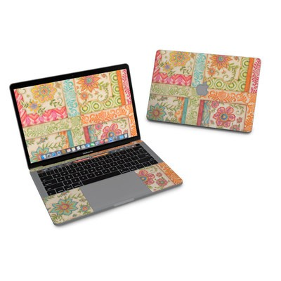 MacBook Pro 13in (2016) Skin - Ikat Floral