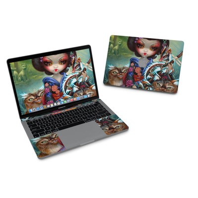 MacBook Pro 13in (2016) Skin - Kirin and Bakeneko
