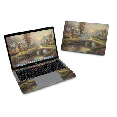 MacBook Pro 13in (2016) Skin - Sunset On Lamplight Lane