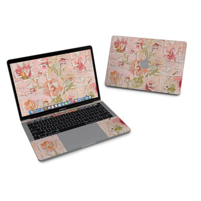 MacBook Pro 13in (2016) Skin - Love Floral