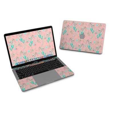 MacBook Pro 13in (2016) Skin - Merkittens with Pearls Blush