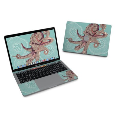 MacBook Pro 13in (2016) Skin - Octopus Bloom