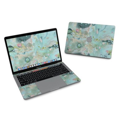 MacBook Pro 13in (2016) Skin - Organic In Blue