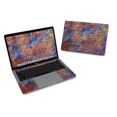 MacBook Pro 13in (2016) Skin - Painted Brick