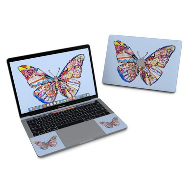 MacBook Pro 13in (2016) Skin - Pieced Butterfly