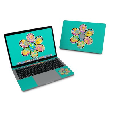 MacBook Pro 13in (2016) Skin - Peace Flower