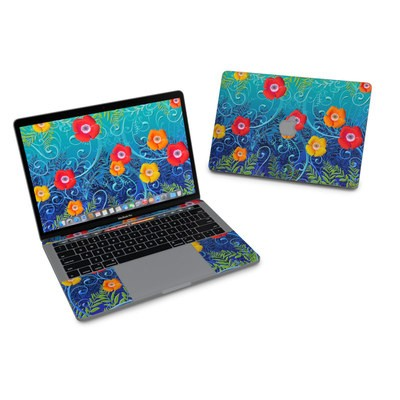 MacBook Pro 13in (2016) Skin - Poppies