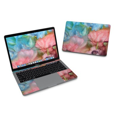 MacBook Pro 13in (2016) Skin - Poppy Garden