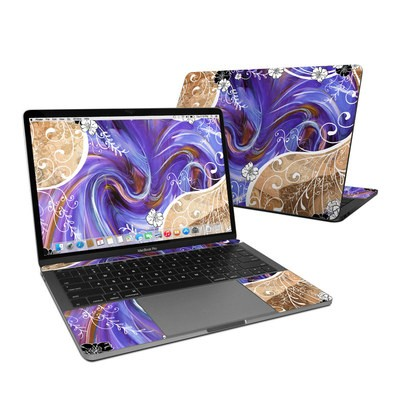 MacBook Pro 13in (2016) Skin - Purple Waves