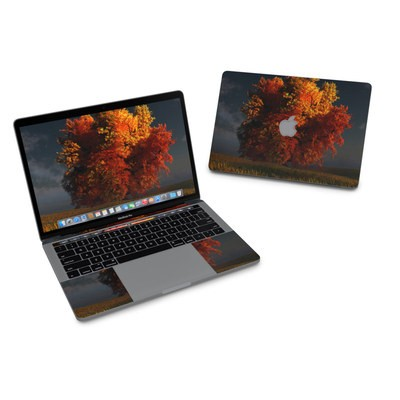 MacBook Pro 13in (2016) Skin - Red and Gold