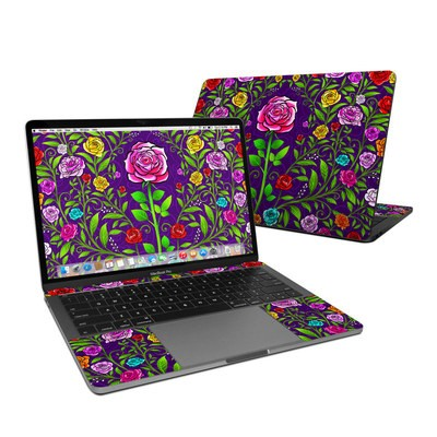 MacBook Pro 13in (2016) Skin - Rose Burst