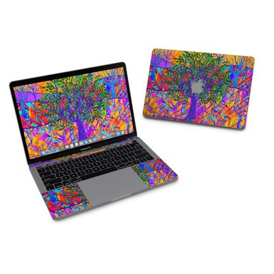 MacBook Pro 13in (2016) Skin - Stained Glass Tree