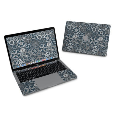 MacBook Pro 13in (2016) Skin - Silver Gears