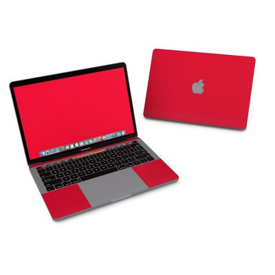MacBook Pro 13in (2016) Skin - Solid State Red