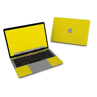 MacBook Pro 13in (2016) Skin - Solid State Yellow