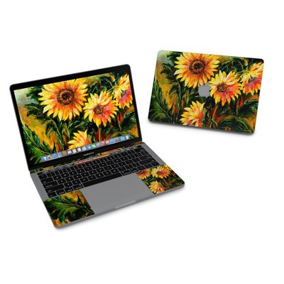 MacBook Pro 13in (2016) Skin - Sunflower Sunshine