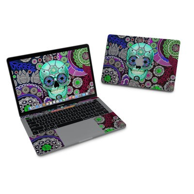 MacBook Pro 13in (2016) Skin - Sugar Skull Sombrero