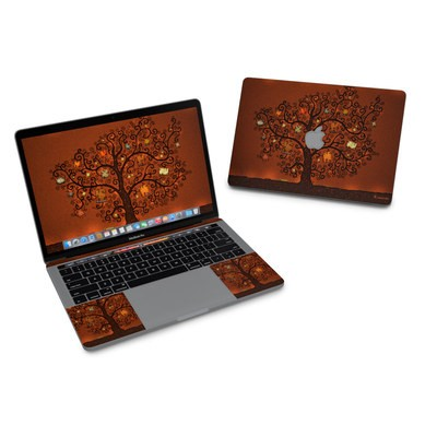 MacBook Pro 13in (2016) Skin - Tree Of Books