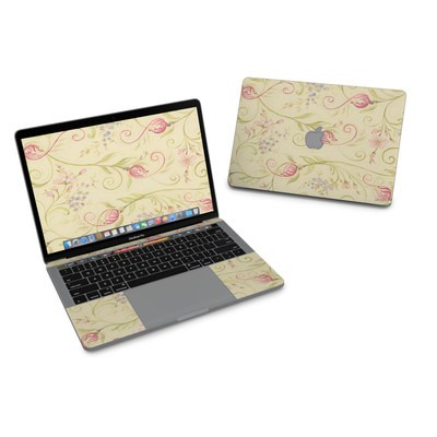 MacBook Pro 13in (2016) Skin - Tulip Scroll