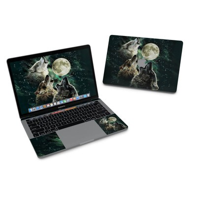 MacBook Pro 13in (2016) Skin - Three Wolf Moon