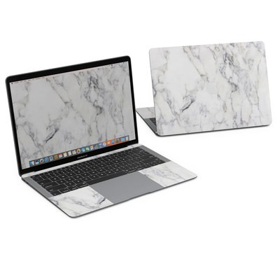 MacBook Air 13in (2018) Skin - White Marble