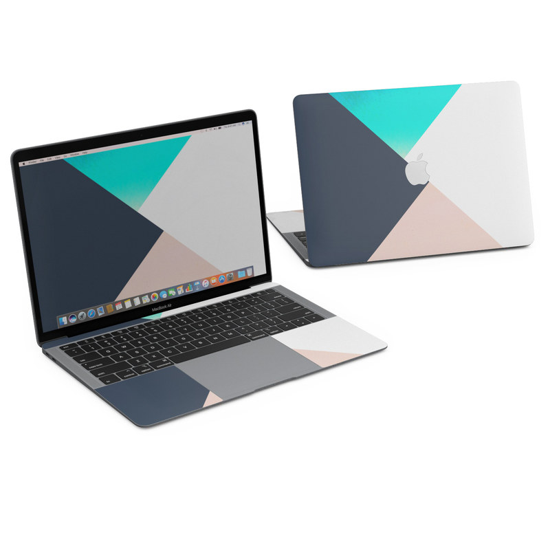 MacBook Air 13in (2018) Skin - Currents by Color Block   DecalGirl