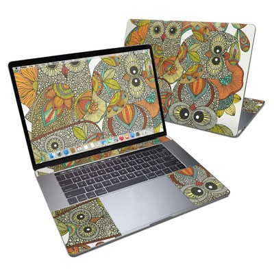 MacBook Pro 15in (2016) Skin - 4 owls