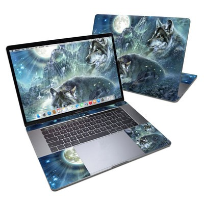 MacBook Pro 15in (2016) Skin - Bark At The Moon