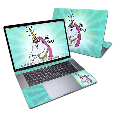 MacBook Pro 15in (2016) Skin - Be You Unicorn