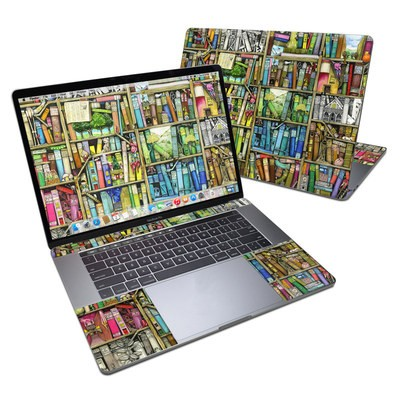 MacBook Pro 15in (2016) Skin - Bookshelf