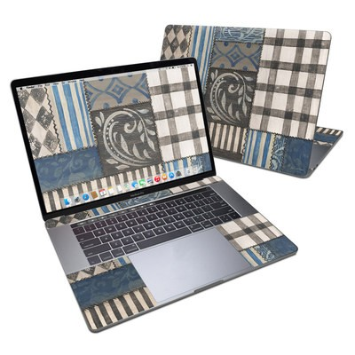 MacBook Pro 15in (2016) Skin - Country Chic Blue
