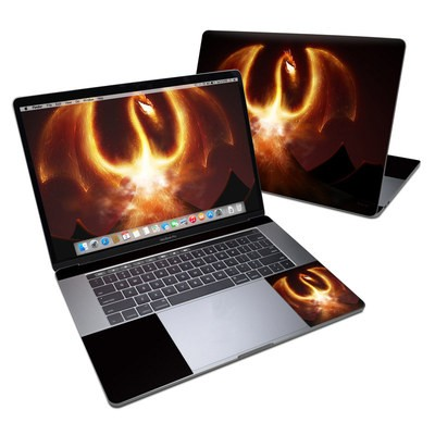 MacBook Pro 15in (2016) Skin - Fire Dragon