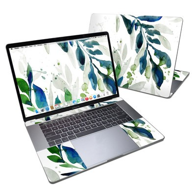 MacBook Pro 15in (2016) Skin - Floating Leaves