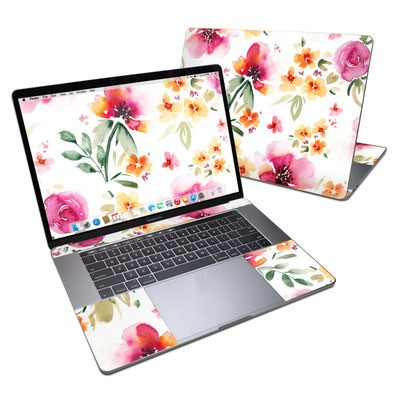 MacBook Pro 15in (2016) Skin - Fresh Flowers