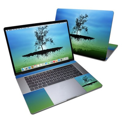 MacBook Pro 15in (2016) Skin - Flying Tree Blue
