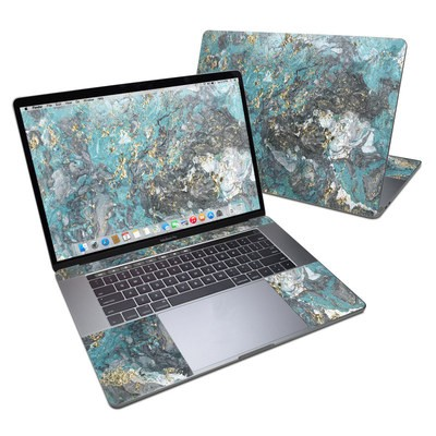 MacBook Pro 15in (2016) Skin - Gilded Glacier Marble