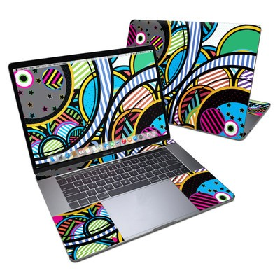 MacBook Pro 15in (2016) Skin - Hula Hoops
