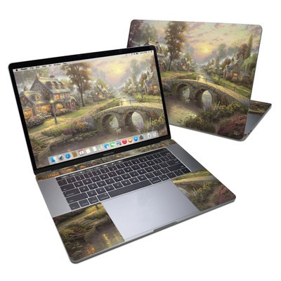 MacBook Pro 15in (2016) Skin - Sunset On Lamplight Lane