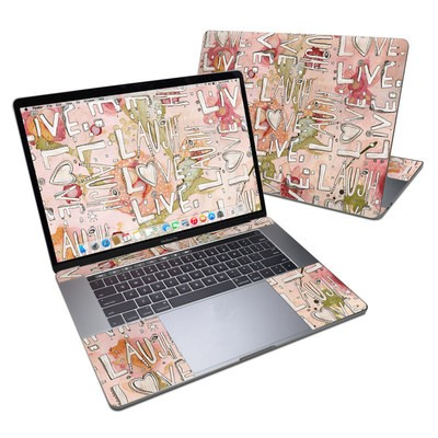 MacBook Pro 15in (2016) Skin - Love Floral