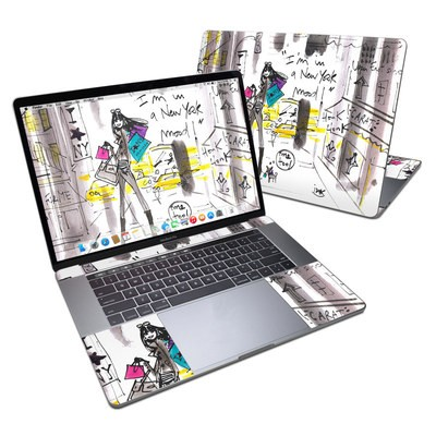 MacBook Pro 15in (2016) Skin - My New York Mood