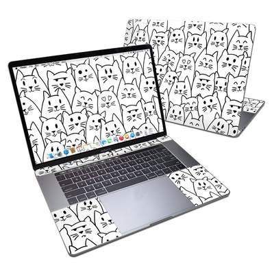 MacBook Pro 15in (2016) Skin - Moody Cats