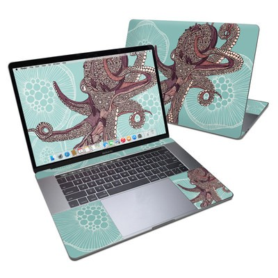 MacBook Pro 15in (2016) Skin - Octopus Bloom