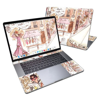 MacBook Pro 15in (2016) Skin - Paris Makes Me Happy