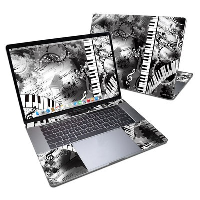 MacBook Pro 15in (2016) Skin - Piano Pizazz
