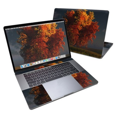 MacBook Pro 15in (2016) Skin - Red and Gold