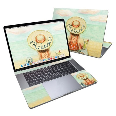 MacBook Pro 15in (2016) Skin - Relaxing on Beach