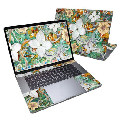 MacBook Pro 15in (2016) Skin - Sangria Flora