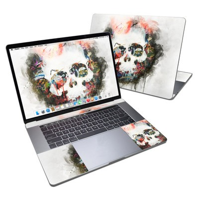 MacBook Pro 15in (2016) Skin - Skull Splat