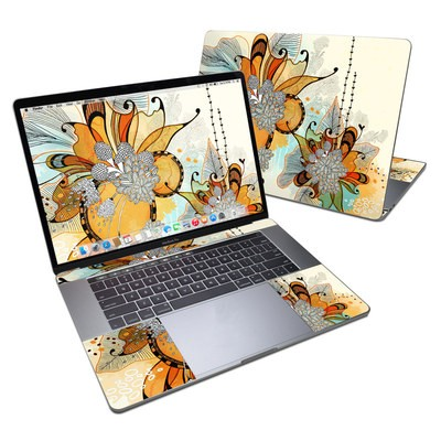 MacBook Pro 15in (2016) Skin - Sunset Flowers