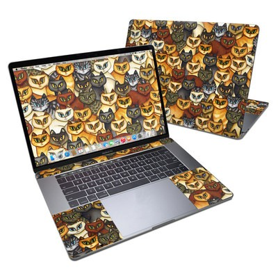 MacBook Pro 15in (2016) Skin - Stacked Cats